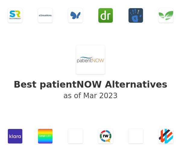 Best patientNOW Alternatives