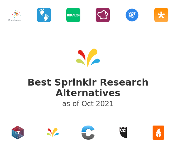 Best Sprinklr Research Alternatives