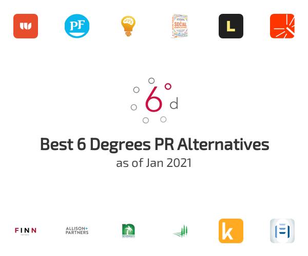 Best 6 Degrees PR Alternatives