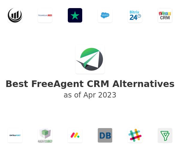 Best FreeAgent CRM Alternatives