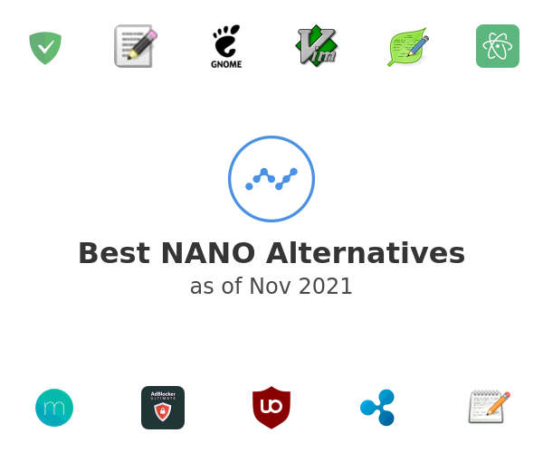Best NANO Alternatives