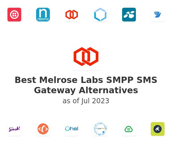 Best Melrose Labs SMPP SMS Gateway Alternatives