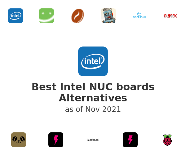 Best Intel NUC boards Alternatives