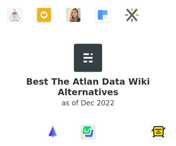 Best The Atlan Data Wiki Alternatives