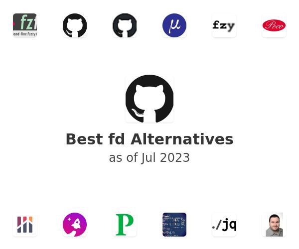 Best fd Alternatives