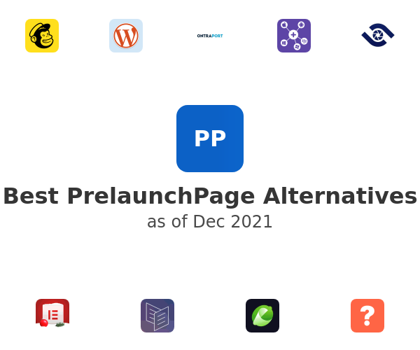Best PrelaunchPage Alternatives
