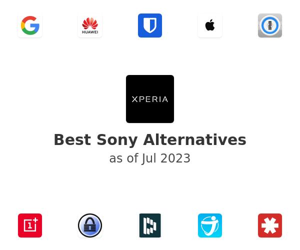 Best Sony Alternatives