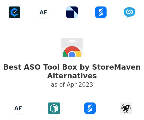 Best ASO Tool Box by StoreMaven Alternatives