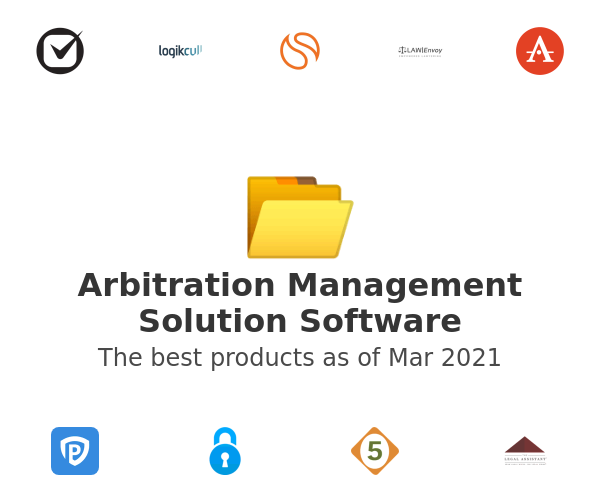 Arbitration Management Solution Software