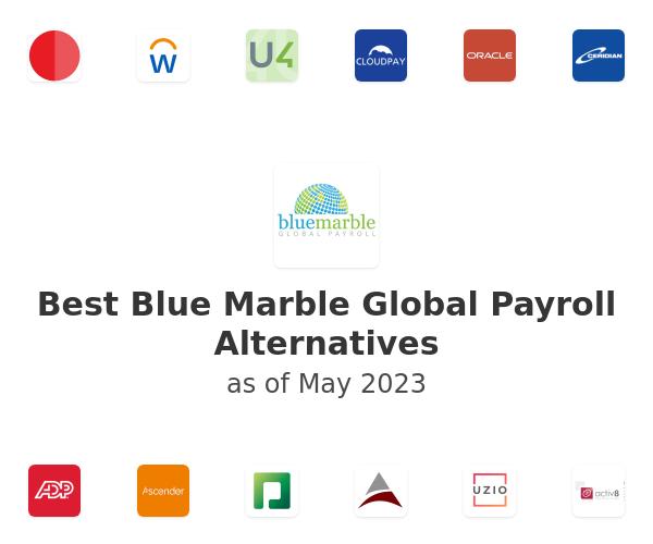 Best Blue Marble Global Payroll Alternatives