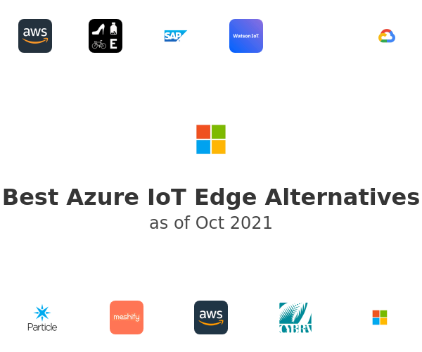 Best Azure IoT Edge Alternatives