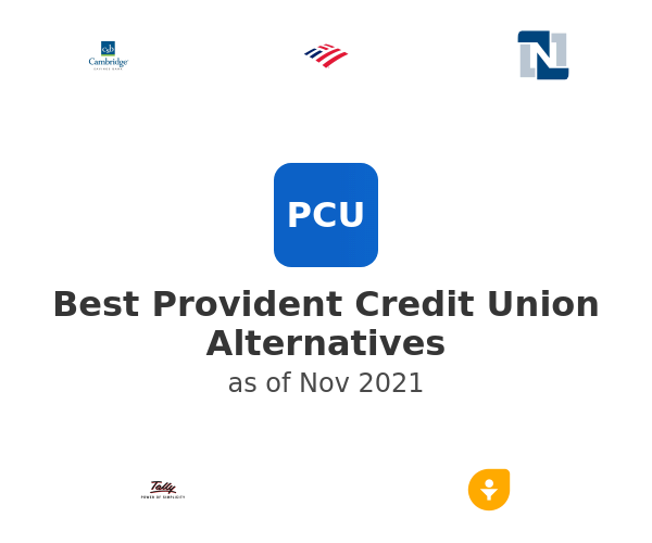 Best Provident Credit Union Alternatives