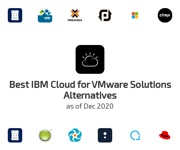 Best IBM Cloud for VMware Solutions Alternatives