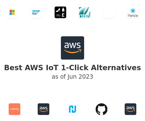 Best AWS IoT 1-Click Alternatives