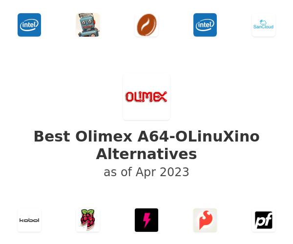 Best Olimex A64-OLinuXino Alternatives