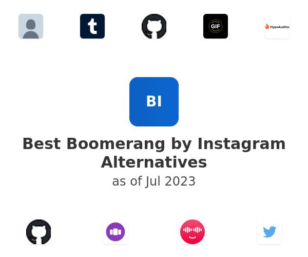 Best Boomerang by Instagram Alternatives