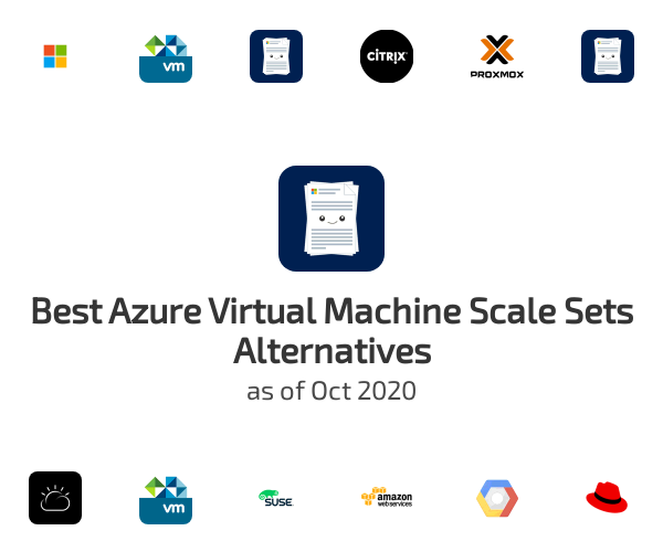 Best Azure Virtual Machine Scale Sets Alternatives