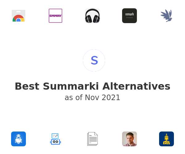 Best Summarki Alternatives