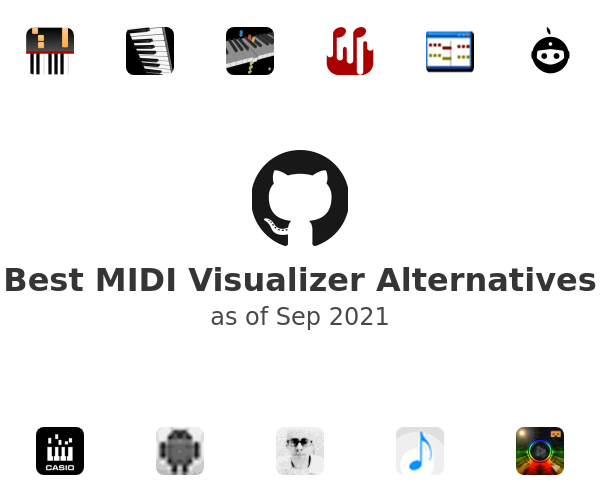 Best MIDI Visualizer Alternatives