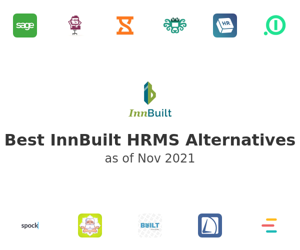 Best InnBuilt HRMS Alternatives