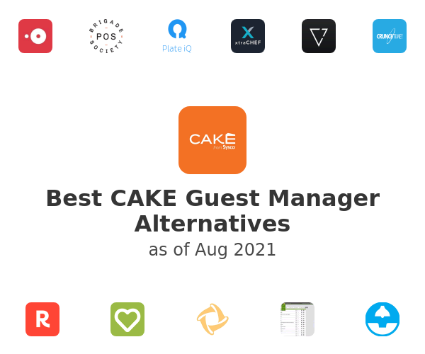 Best CAKE Guest Manager Alternatives