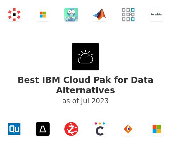 Best IBM Cloud Pak for Data Alternatives