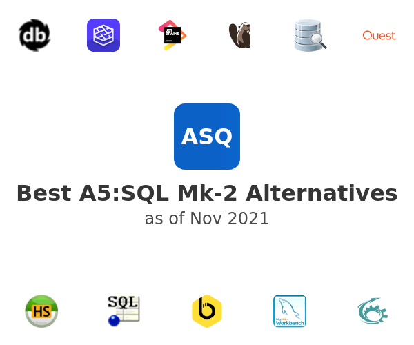 Best A5:SQL Mk-2 Alternatives