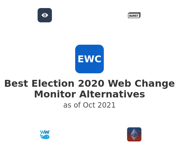 Best Election 2020 Web Change Monitor Alternatives