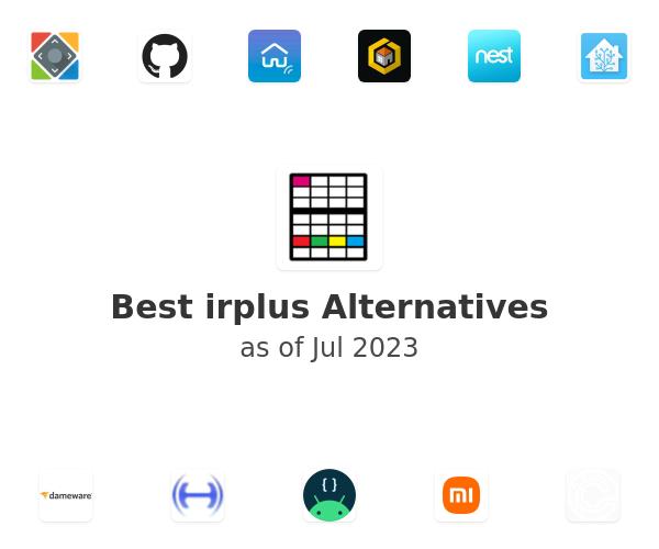 Best irplus Alternatives