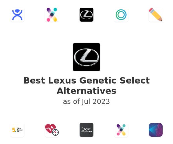 Best Lexus Genetic Select Alternatives