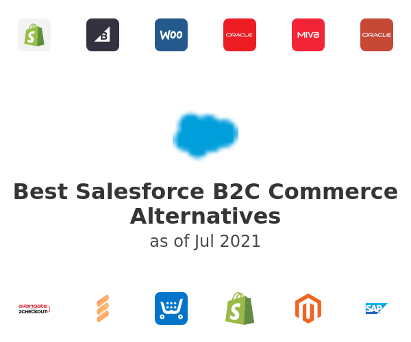 Best Salesforce B2C Commerce Alternatives