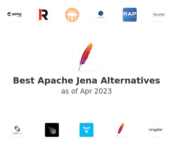 Best Apache Jena Alternatives