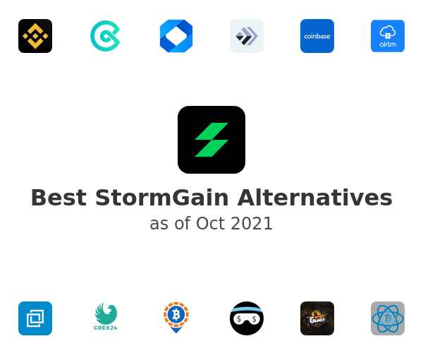 Best StormGain Alternatives
