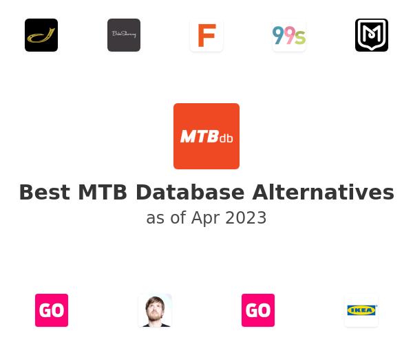 Best MTB Database Alternatives