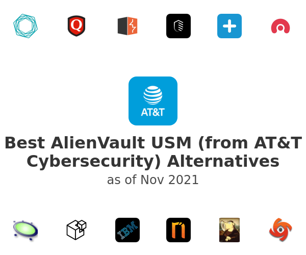 Best AlienVault USM (from AT&T Cybersecurity) Alternatives