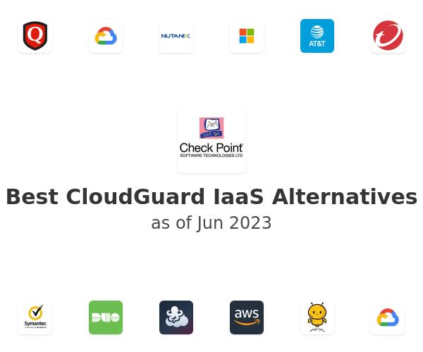 Best CloudGuard IaaS Alternatives