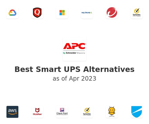 Best Smart UPS Alternatives