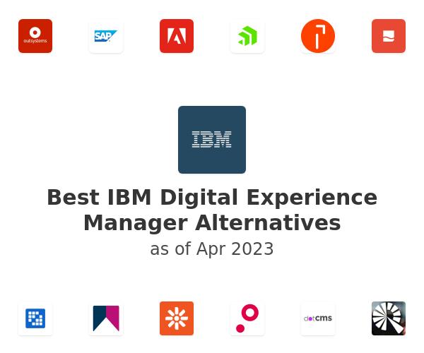 Best IBM Digital Experience Manager Alternatives