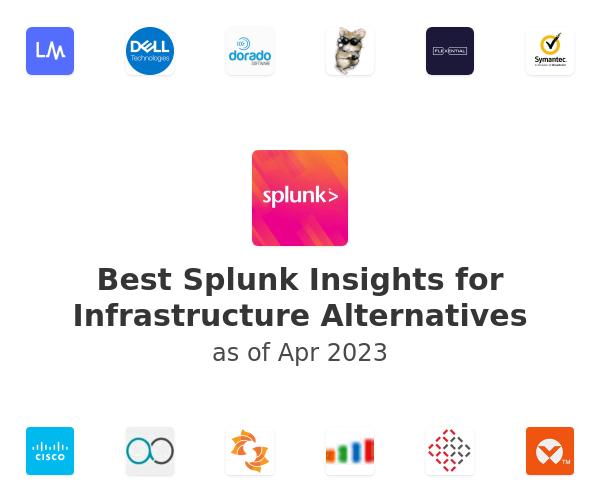 Best Splunk Insights for Infrastructure Alternatives