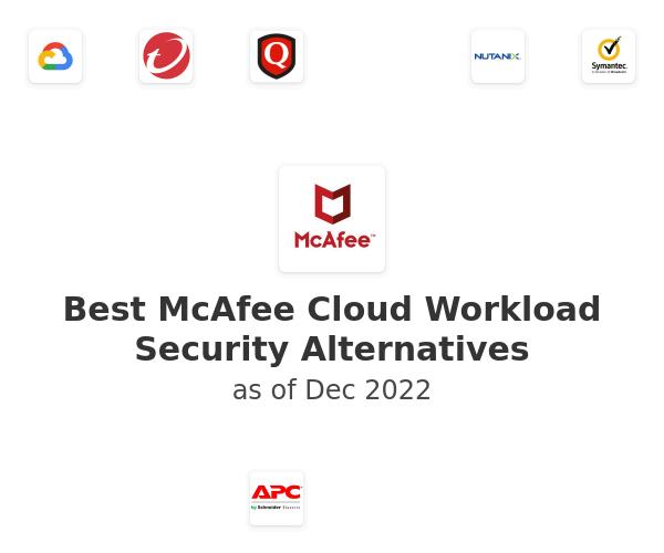 Best McAfee Cloud Workload Security Alternatives