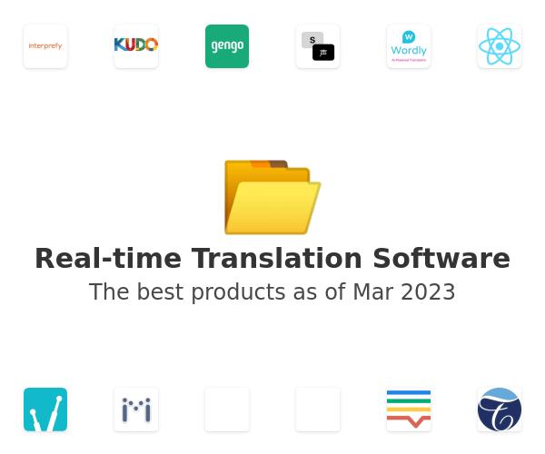 Real-time Translation Software