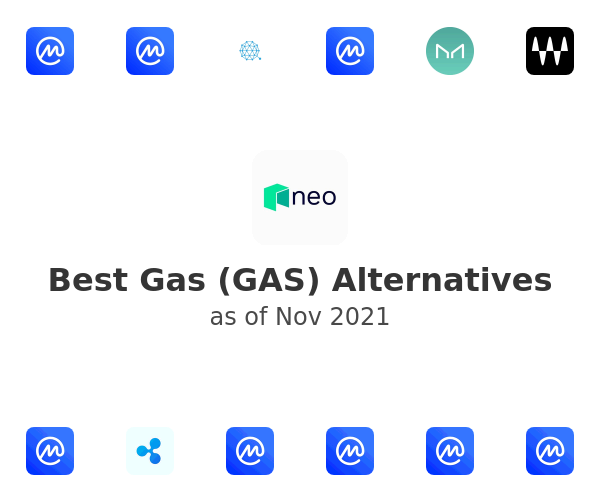 Best Gas (GAS) Alternatives