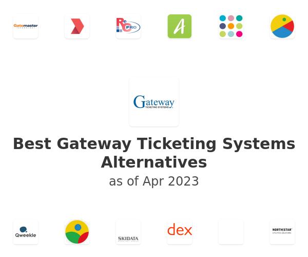 Best Gateway Ticketing Systems Alternatives