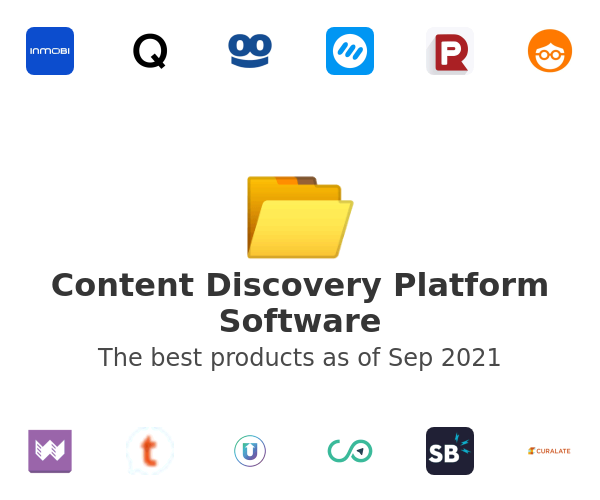 Content Discovery Platform Software