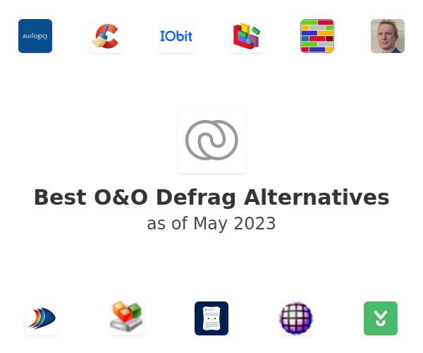 Best O&O Defrag Alternatives