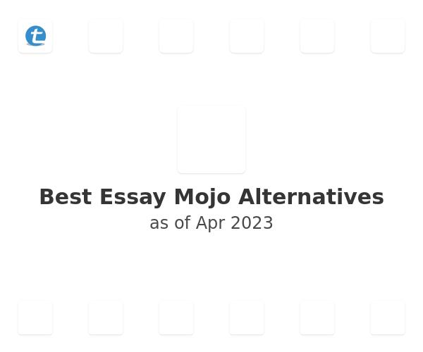 Best Essay Mojo Alternatives