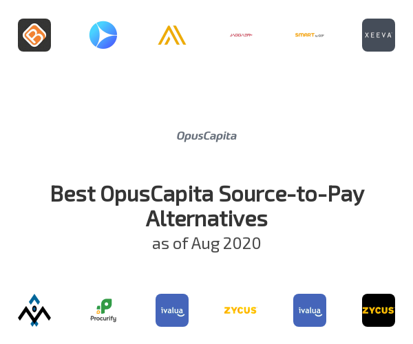 Best OpusCapita Source-to-Pay Alternatives