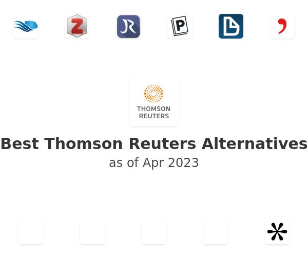 Best Thomson Reuters Alternatives