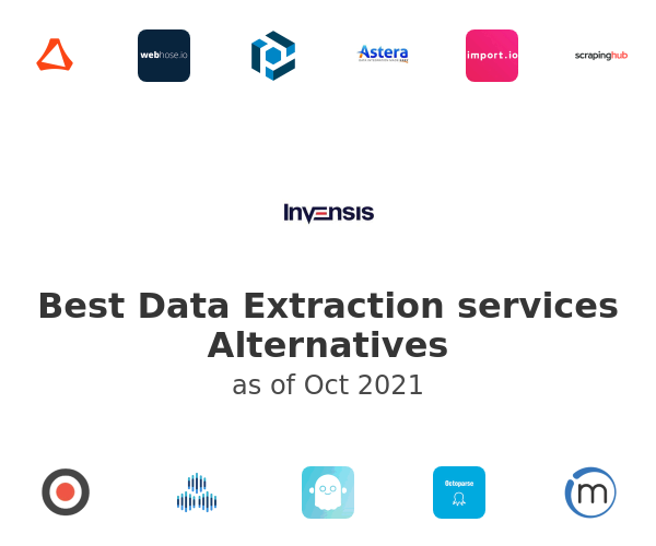 Best Data Extraction services Alternatives