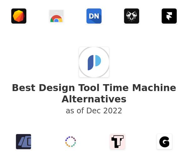 Best Design Tool Time Machine Alternatives